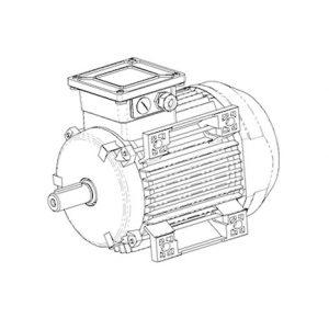 1080200305 Электродвигатель компрессора ATLAS COPCO