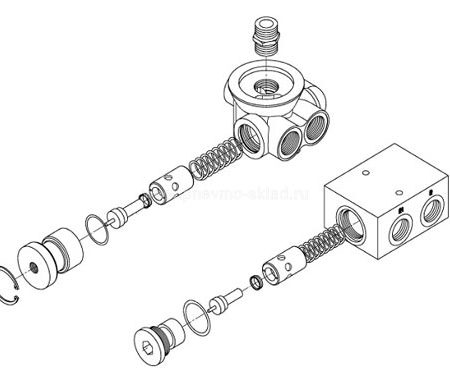 1089055540 Термостат компрессора ATLAS COPCO