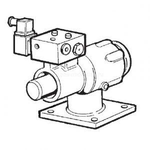 273.02040 Впускной клапан винтового компрессора KRAFTMANN
