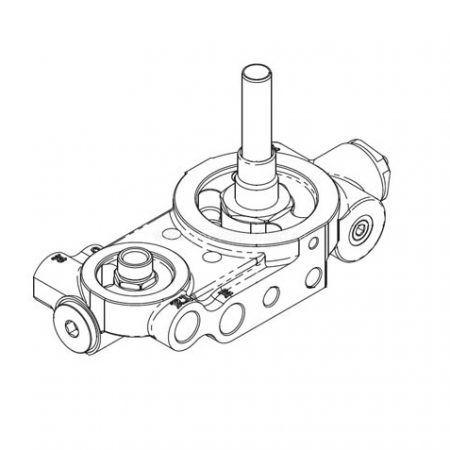 8234005 Комбинированный блок компрессора KRAFTMANN