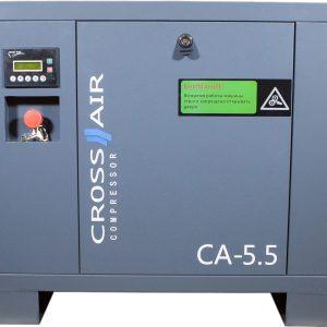 Винтовой компрессор CrossAir CA5.5-10RA фото
