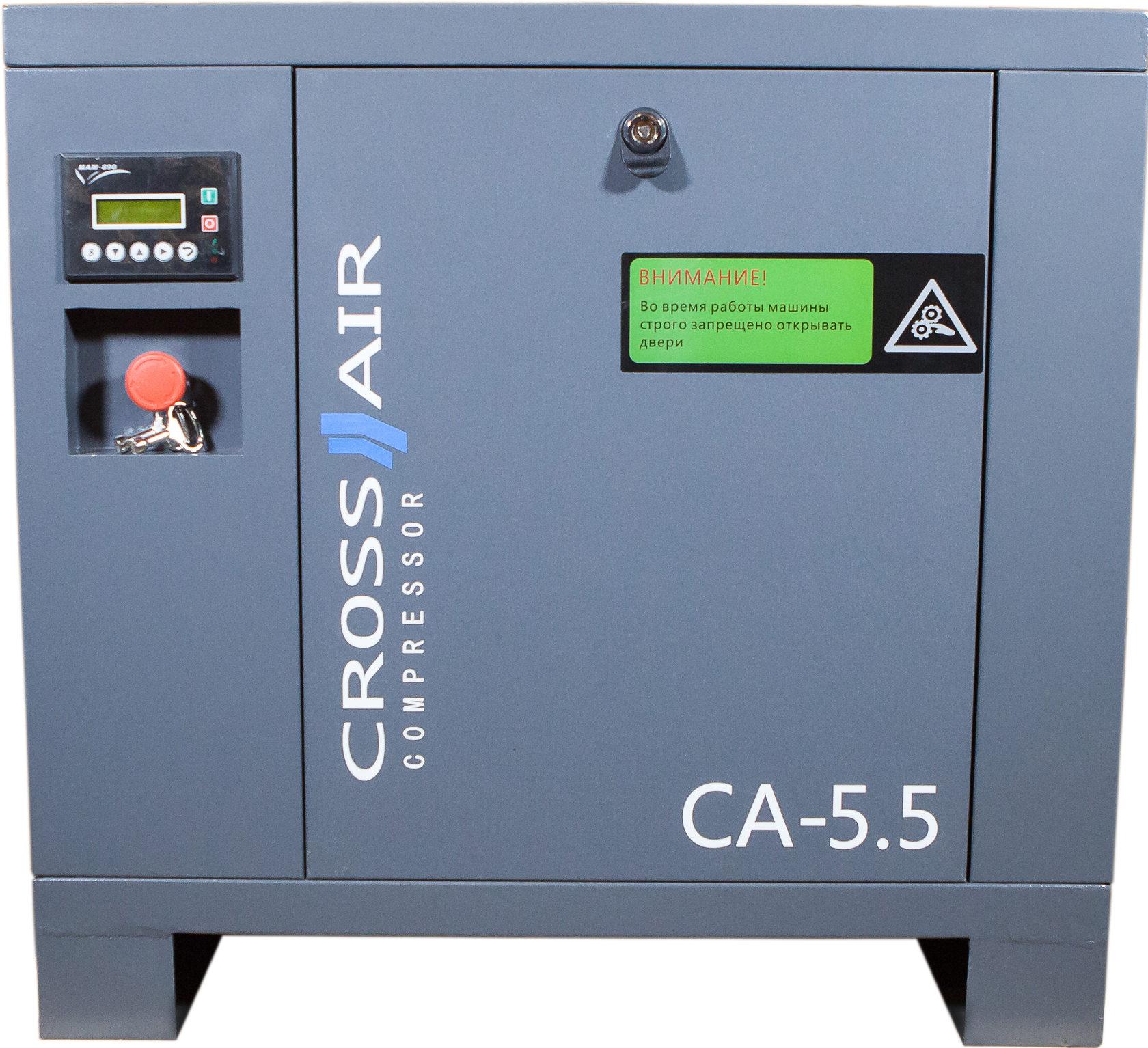 Винтовые компрессоры CrossAir CA5.5-10RA